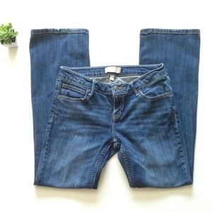 EUC Petite Size 4 Banana Republic Jeans Boot Cut